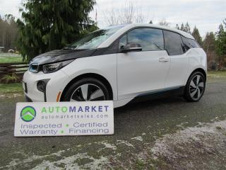 Used 2015 BMW i3 Base w/Range Extender for sale in Surrey, BC