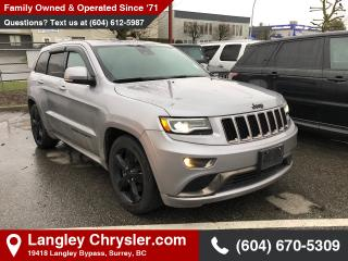 Used 2016 Jeep Grand Cherokee Overland *BLUETOOTH* * NAVIGATION* * BACKUP CAMERA* for sale in Surrey, BC