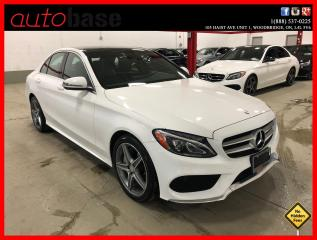 Used 2016 Mercedes-Benz C-Class C300 4MATIC PREMIUM SPORT for sale in Vaughan, ON
