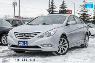 Used 2013 Hyundai Sonata No Accidents Certified Serviced GLS Sunroof 18's for sale in Bolton, ON