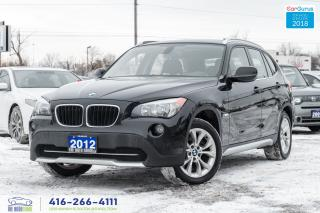 Used 2012 BMW X1 28i AWD Sunroof Certified Serviced Spotless for sale in Bolton, ON