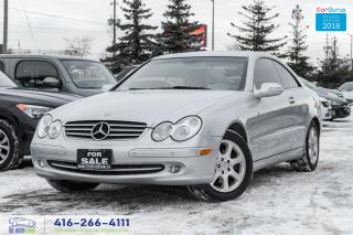 Used 2003 Mercedes-Benz CLK 3.2L no accidents Certified Serviced for sale in Bolton, ON