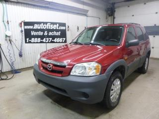 Used 2005 Mazda Tribute GX for sale in St-Raymond, QC