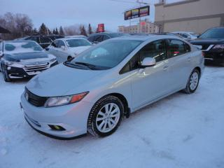 Used 2012 Honda Civic EX-ToitOuvrant-DemDist-BT-Mags a vendre for sale in Laval, QC