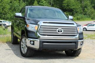 Used 2014 Toyota Tundra Cabine double 4 RM 146 po 5,7 L Limited for sale in Shawinigan, QC