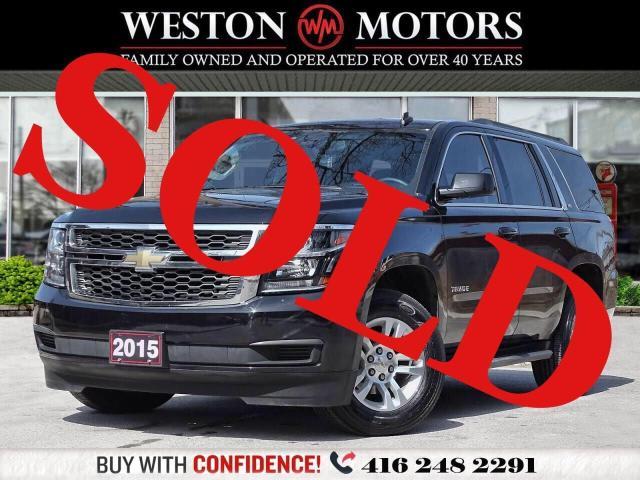 2015 Chevrolet Tahoe K1500*LS*PWR GRP*BTOOTH*8PASS*REVERSE CAM*LOW KM!*