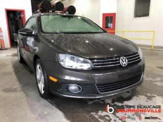 Used 2013 Volkswagen Eos Comfortline for sale in Drummondville, QC