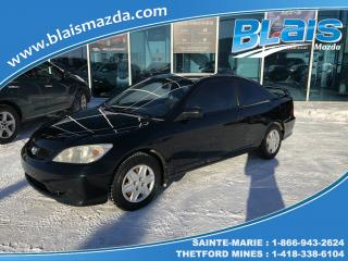 Used 2005 Honda Civic 2 portes DX, boîte automatique for sale in Ste-Marie, QC