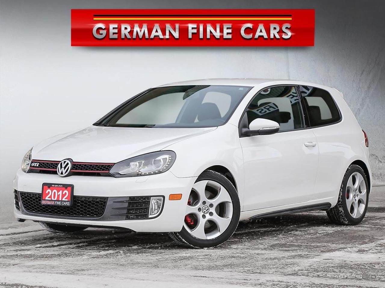 2012 Volkswagen GTI **GTI GAS TURBO, BLUETOOTH, SATELLITE RADIO**