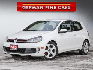 Used 2012 Volkswagen GTI **GTI GAS TURBO, BLUETOOTH, SATELLITE RADIO** for sale in Bolton, ON