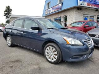 Used 2013 Nissan Sentra Berline 4 portes, boîte manuelle, S for sale in Senneterre, QC