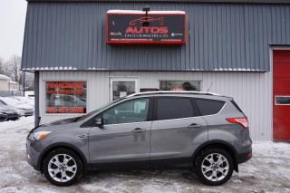 Used 2014 Ford Escape Titanium Awd Cuir for sale in Lévis, QC