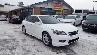Used 2015 Honda Accord Touring/SUNROOF/BACKUP CAMERA/NAVI/LEATHER/$14900 for sale in Brampton, ON