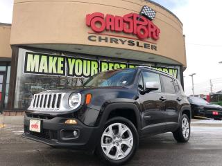 Used 2018 Jeep Renegade LIMITED 4X4, NAVI, REAR CAM, H-TED SEATS for sale in Toronto, ON