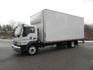 Used 2009 Ford LCF 21 FOOT BOX TRUCK WITH RAMP for sale in Brantford, ON