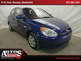 Used 2009 Hyundai Accent HATCH for sale in Sherbrooke, QC