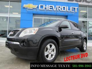 Used 2010 GMC Acadia Lecteur Dvd for sale in Ste-Marie, QC