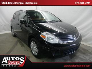 Used 2012 Nissan Versa 1.8 S + A/c + Vi for sale in Sherbrooke, QC