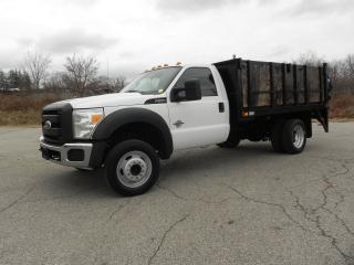 Used 2011 Ford F-550 FLAT DECK WITH LIFT for sale in Brantford, ON
