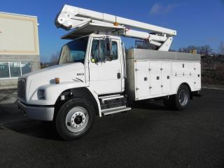 Used 1999 Freightliner FL80 42 FOOT BUCKET TRUCK WITH SERVICE BODY for sale in Brantford, ON