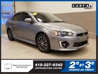 Used 2016 Mitsubishi Lancer Es / Ltd Edition for sale in St-Georges, QC