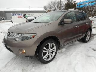 Used 2009 Nissan Murano LE - Certified w/ 6 Month Warranty for sale in Brantford, ON