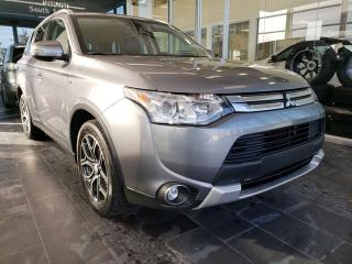 Used 2015 Mitsubishi Outlander GT, HEATED SEATS, POWER LIFTGATE, NAVI for sale in Edmonton, AB