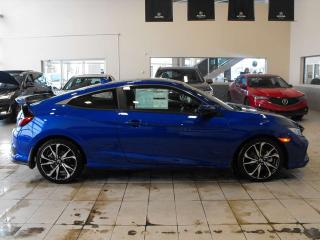 New 2019 Honda Civic Si Coupe Si Navigation Remote Start Sunroof for sale in Red Deer, AB