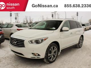 Used 2015 Infiniti QX60 PREMIUM, AWD, TECH PACKAGE, THEATER PACKAGE, DRIVERS ASSIST PACKAGE, NAVIGATION, DUAL HEADREST DVDS, for sale in Edmonton, AB