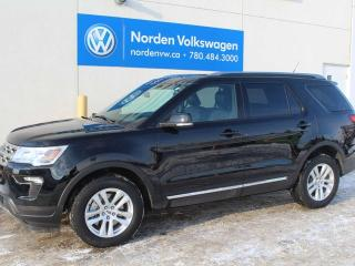 Used 2018 Ford Explorer XLT 4WD - LEATHER / SUNROOF / ALMOST NEW! for sale in Edmonton, AB
