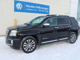 Used 2016 GMC Terrain DENALI AWD - LEATHER / SUNROOF / FULLY LOADED for sale in Edmonton, AB