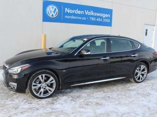 Used 2015 Infiniti Q70 L V8 AWD - COOLED + HEATED SEATS / NAVI / COMPLETE LUXURY for sale in Edmonton, AB