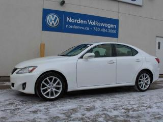 Used 2013 Lexus IS 250 AWD - LEATHER / SUNROOF for sale in Edmonton, AB