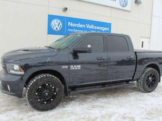 Used 2015 RAM 1500 SPORT CREW CAB 4X4 - LEATHER / HEATED + COOLED SEATS / NAVI for sale in Edmonton, AB