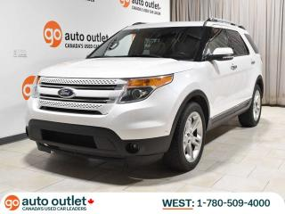 Used 2014 Ford Explorer Limited 4WD; Leather, Heated/Cooled Seats, NAV, Power Hatch! for sale in Edmonton, AB