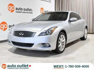 Used 2011 Infiniti G37 Coupe X AWD Coupe; Leather, Heated Seats, Nav, Backup camera for sale in Edmonton, AB