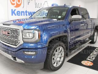 Used 2017 GMC Sierra 1500 Denali with NAV and heated power leather seats for sale in Edmonton, AB