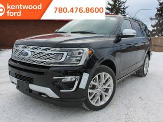New 2019 Ford Expedition Platinum 600A 3.5L 4x4 ecoboost, NAV, heated/ventilated leather seats, remote vehicle start, reverse camera system for sale in Edmonton, AB