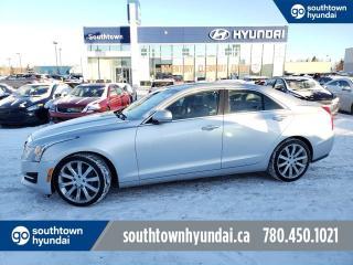 Used 2015 Cadillac ATS Sedan LUXURY/V6/AWD/NAV/PARKING SENSOR/SUNROOF for sale in Edmonton, AB