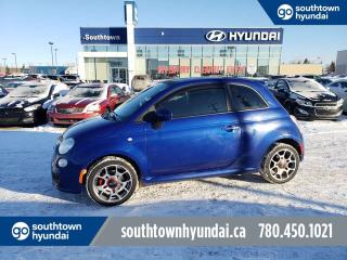 Used 2013 Fiat 500 SPORT/SUNROOF/LEATHER/HEATED SEATS for sale in Edmonton, AB