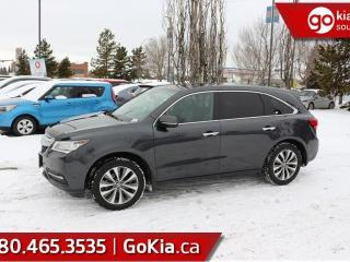Used 2014 Acura MDX NAV PKG; KEYLESS ENTRY, BLUETOOTH, LEATHER, HEATED SEATS/WHEEL, BACKUP CAM, AND MOREN for sale in Edmonton, AB