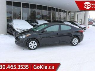 Used 2015 Hyundai Elantra ELANTRA; BEAUTIFUL CONDITION, LOW KMS, MANUAL, MUST SEE CAR!!! for sale in Edmonton, AB