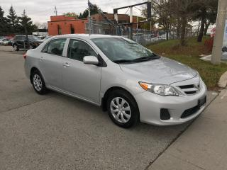 Used 2013 Toyota Corolla SUN ROOF,H/SEATS,SAFETY+3 YEARS  WARRANTY INCLUDED for sale in Toronto, ON