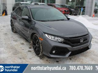 Used 2017 Honda Civic Hatchback SPRT for sale in Edmonton, AB