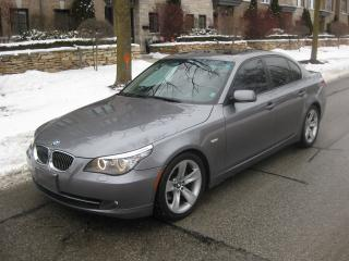 Used 2008 BMW 5 Series 528i, CERTIFIED, NEW 18IN TIRES, NO ACCIDENTS for sale in Toronto, ON
