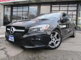 Used 2015 Mercedes-Benz CLA-Class CLA250- 4MATIC-NAVIGATION-LTHER-CAMERA-BLUETOO-HEA for sale in Scarborough, ON