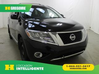 Used 2015 Nissan Pathfinder SL AWD for sale in St-Léonard, QC