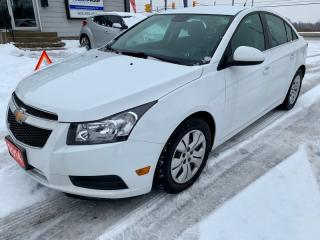 Used 2014 Chevrolet Cruze 1LT, auto, low km's, no accidents for sale in Halton Hills, ON
