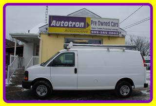 Used 2014 Chevrolet Express 2500 3/4 Ton Cargo Van,  Roof Rack for sale in Woodbridge, ON