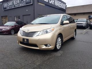 Used 2011 Toyota Sienna LIMITED for sale in Coquitlam, BC
